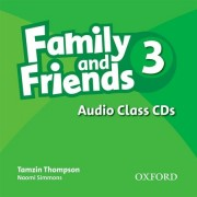 Family and Friends 3 Audio CDs