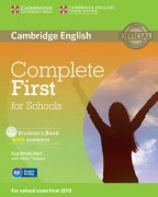 Complete First for Schools Student's Book with Answers and CD-ROM (2014)