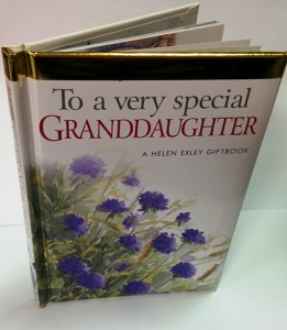 To a very special granddaughter